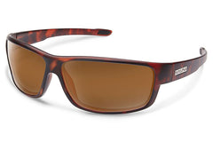 Suncloud - Voucher Matte Tortoise Sunglasses, Brown Lenses