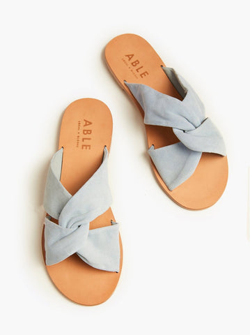 ABLE - Suze Ice Suede Sandals