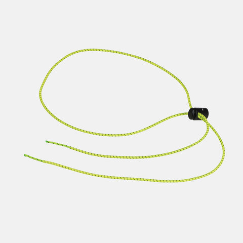 Leader - Bungee Cord Lime Green Swim Goggle Strap