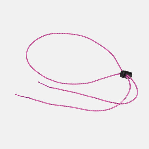 Leader - Bungee Cord Pink Swim Goggle Strap