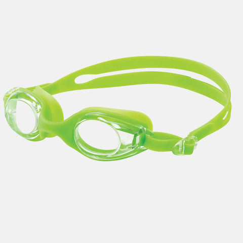 Leader - Sandcastle Ages 3-6 Recreational Series Lime Green Swim Goggles / Clear Lenses