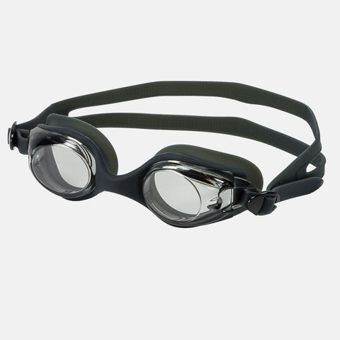 Leader - Sandcastle Ages 3-6 Recreational Series Black Swim Goggles / Smoke Lenses
