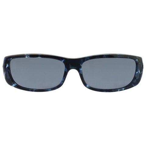 Jonathan Paul Fitovers - Sabre Blue Cloud Fitover Sunglasses / Polarvue Gray Lenses