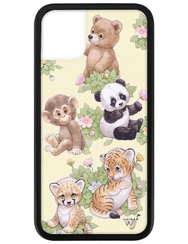 Wildflower - Safari Babies iPhone 11  Phone Cases /  Lenses