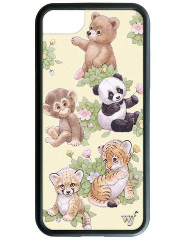 Wildflower - Safari Babies iPhone 6/7/8  Phone Cases /  Lenses
