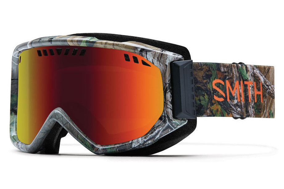 Smith - Scope REALTREE XTRA Green Goggles, Red Sol-X Mirror Lenses