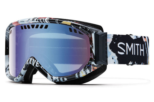Smith - Scope Ripped Goggles, Blue Sensor Mirror Lenses