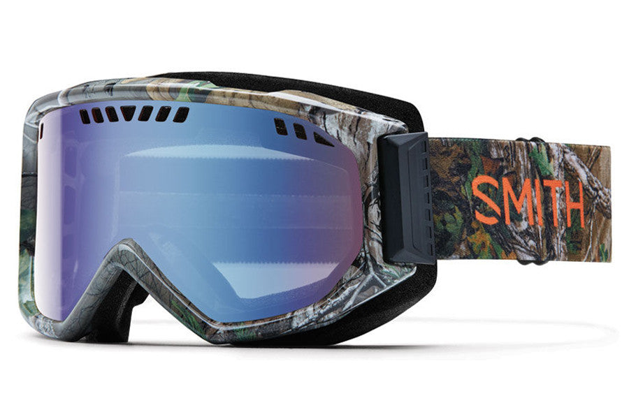 Smith - Scope REALTREE XTRA Green Goggles, Blue Sensor Mirror Lenses
