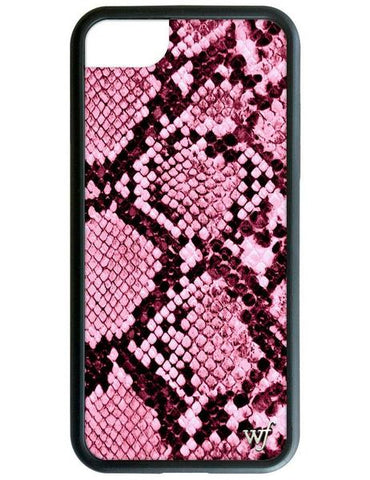 Wildflower - Pink Snakeskin iPhone 6/7/8 Plus Phone Case