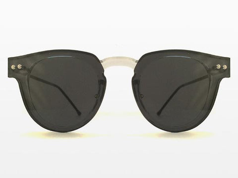 Spitfire - Sharper Edge 2 Clear Sunglasses, Black Lenses