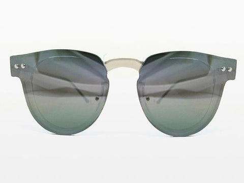 Spitfire - Sharper Edge 2 Clear Sunglasses, Silver Mirror Lenses