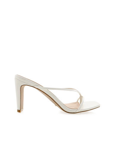BiLLiNi - Women's Silas White Block Heels