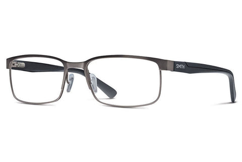 Smith - Sinclair Large Fit Gunmetal Black Rx Glasses
