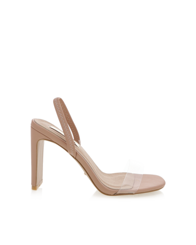BiLLiNi - Women's Sirela Dark Nude Block Heels