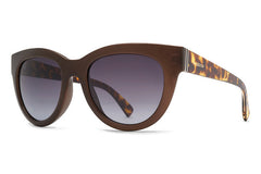VonZipper - Queenie Copper Gloss Tortoise Satin CTV Sunglasses