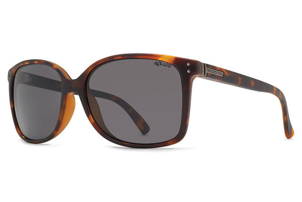 VonZipper - Castaway Tortoise Sunglasses, Wildlife Slate Gray Lenses