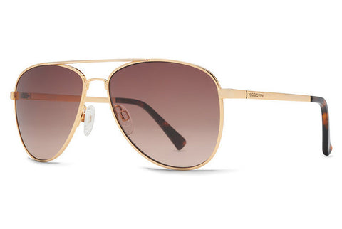 VonZipper Statey Gold GBG Sunglasses, Gradient Lenses