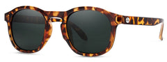 Sunski - Foothills Tortoise Sunglasses / Forest Polarized Lenses