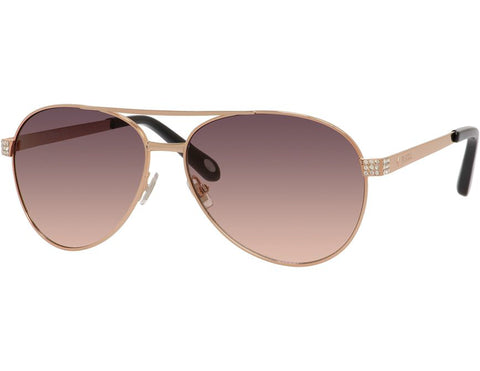 Fossil - 3051  Rose Gold  Sunglasses / Smoke Tan  Lenses