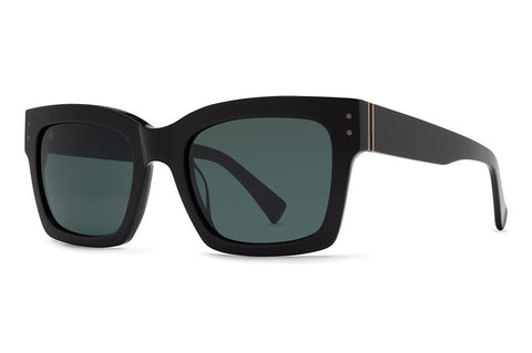 VonZipper - Roscoe Black BKV Sunglasses, Vintage Grey Lenses