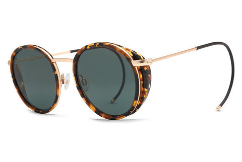 VonZipper Empire Tortoise Gloss TOV Sunglasses, Vinta Lenses