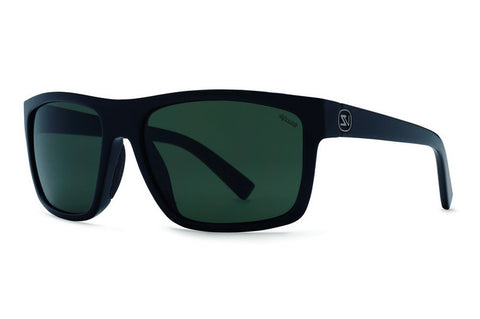 VonZipper - Speedtuck Black Satin PRC Sunglasses, Wildlife Rose Polarized Lenses
