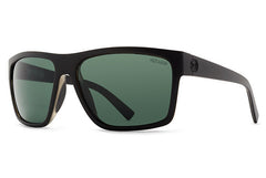 VonZipper - Dipstick Black Satin PSV Sunglasses, Wildlife Vintage Gray Lenses