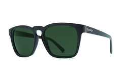 VonZipper - Levee Black Gloss PBV Sunglasses, Wildlife Vintage Grey Polarized Lenses