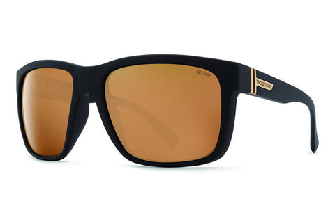 VonZipper - Maxis Black Satin PDC Sunglasses, Wildlife Polarized Lenses