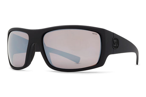 VonZipper - Suplex Black Satin PRC Sunglasses, Wildlife Rose Chrome Polarized Lenses