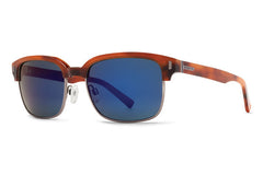 VonZipper - Mayfield Havana Tort Sunglasses, Vintage Grey Lenses