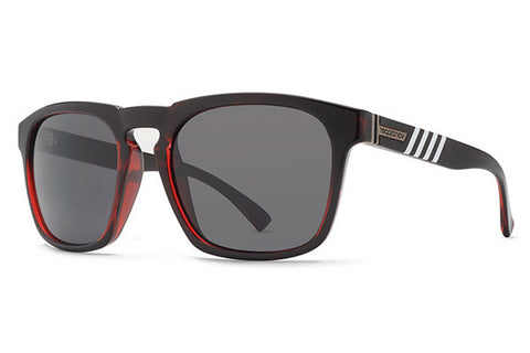 VonZipper - Banner Fasthouse Red Satin FR1 Sunglasses, Grey Lenses