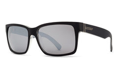 VonZipper - Elmore Black BKN Sunglasses, Silver Lenses