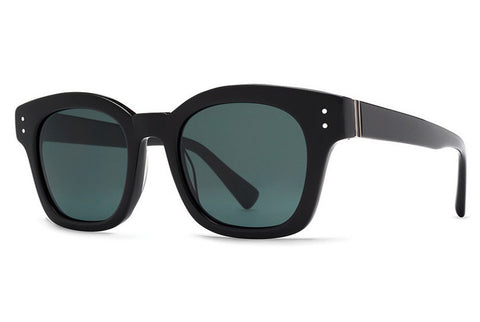 VonZipper - Belafonte Black BKV Sunglasses, Vintage Gray Lenses