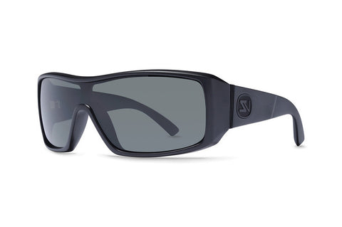 VonZipper - Comsat Black Satin BKS Sunglasses, Grey Lenses