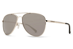 VonZipper - Farva Silver SGC Sunglasses, Gray Charcoal Lenses
