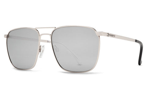 VonZipper - League Silver SGC Sunglasses, Gray Charcoal Lenses