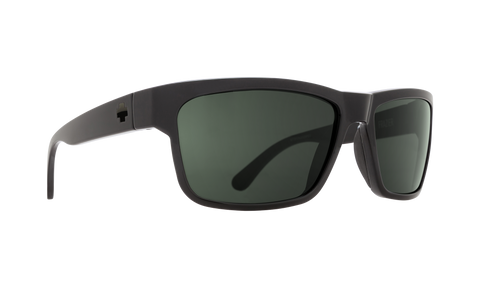 Spy - Frazier 59mm SOSI Black Sunglasses / HD Plus Gray Green Lenses