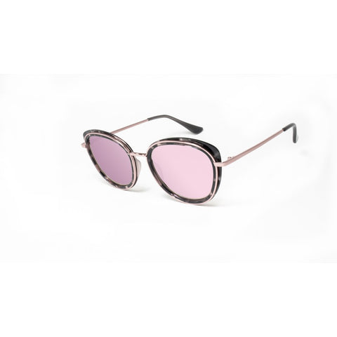 74a9902b1b2 Peppers - Bijou Pink Tortoise + Rose Gold Sunglasses   Diamond Pink Mirror  Lenses