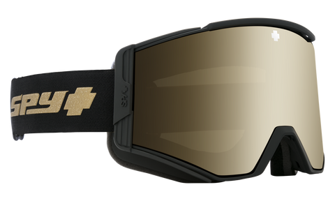 Spy - Ace 25th Anniversary Black Gold Snow Goggles / HD Plus Bronze Gold Spectra Mirror + HD Plus LL Persimmon Silver Spectra Mirror Lenses