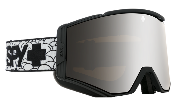 Spy - Ace SPY + Level 1 Snow Goggles / HD Plus Bronze Silver Spectra Mirror + HD Plus LL Yellow Green Spectra Mirror Lenses