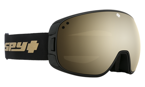 Spy - Bravo 25th Anniv Black Gold Snow Goggles / HD Plus Bronze Gold Spectra Mirror + HD Plus LL Persimmon Silver Spectra Mirror Lenses