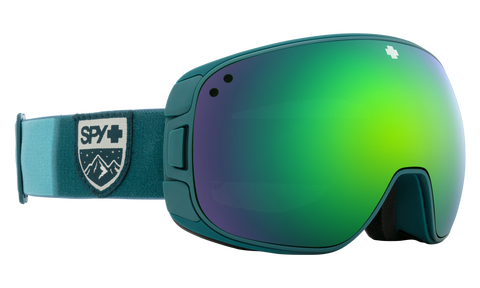 Spy - Bravo Colorblock Raspberry Snow Goggles / HD Plus Rose Dark Blue Spectra Mirror + HD Plus LL Light Gray Green Red Spectra Mirror Lenses