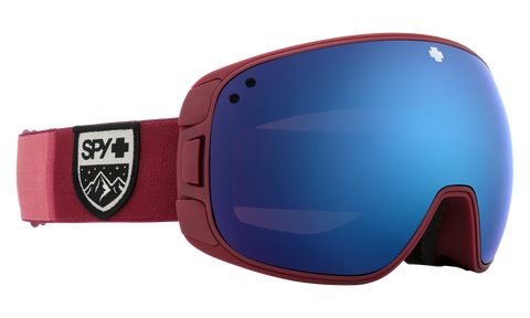 Spy - Bravo Colorblock Teal Snow Goggles /  HD Plus Bronze Green Spectra Mirror + HD Plus LL Persimmon Silver Spectra Mirror Lenses