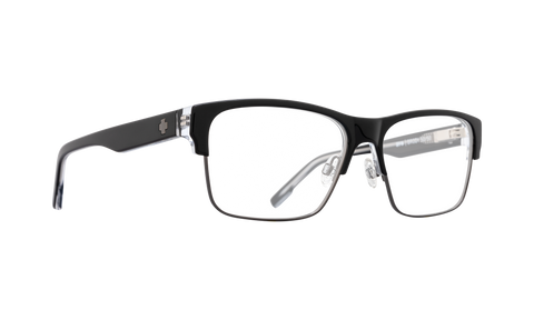 Spy - Brody 5050 Black Clear Gunmetal Eyeglasses / Demo Lenses