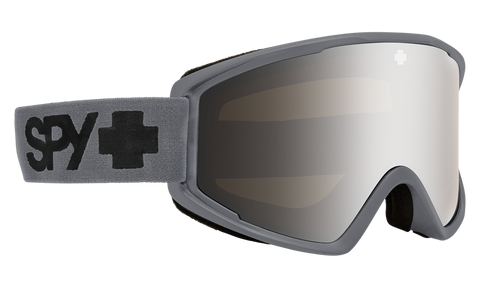 Spy - Crusher Elite Matte Gray Snow Goggles / HD Bronze Silver Spectra Mirror Lenses