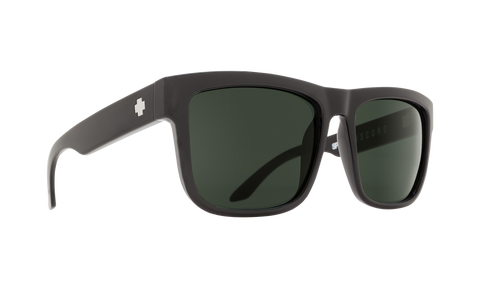 Spy - Discord Black Sunglasses / HD Plus Gray Green Lenses
