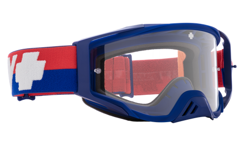 Spy - Foundation Bolt USA MX Goggles / HD Clear Lenses