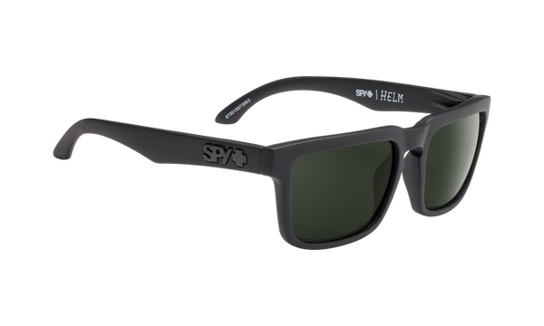 Spy - Helm Whitewall Sunglasses / HD Plus Gray Green Red Spectra Mirror Lenses