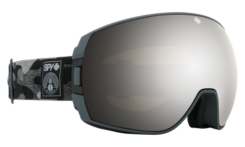 Spy - Legacy SPY + Eric Jackson Gray Snow Goggles / HD Plus Bronze Gold Spectra Mirror + HD Plus LL Light Gray Green Red Spectra Mirror Lenses